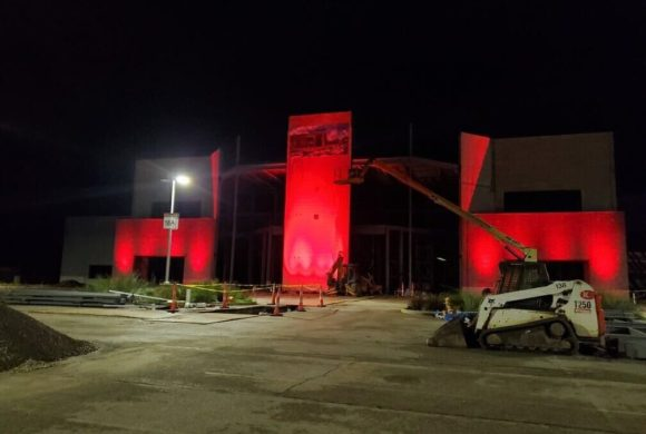 The Factory Turns Red for #SaveOurStages
